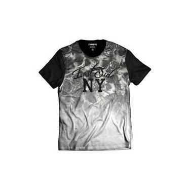 cce4139956f40 Camiseta Masculina Flowers Floral East Side New York Ny