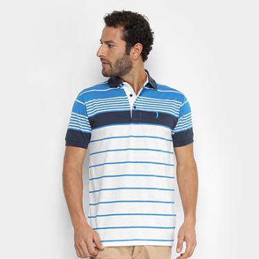 Camisa Polo Aleatory Fio Tinto Listrada Masculina - Masculino 9bd84033d42
