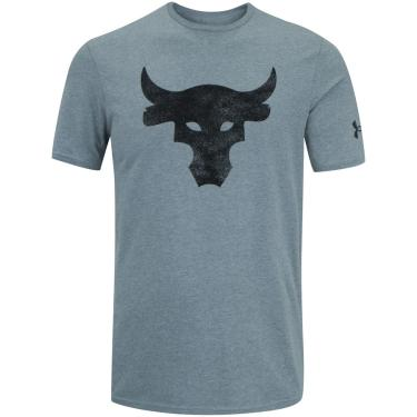 Camiseta Under Armour Project Rock Brah - Masculina Under Armour Masculino