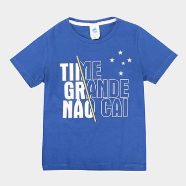 19f332ade2 Camiseta Cruzeiro Infantil Time Grande - Masculino