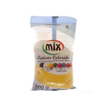 Açúcar Cristal Amarelo com 500g Mix