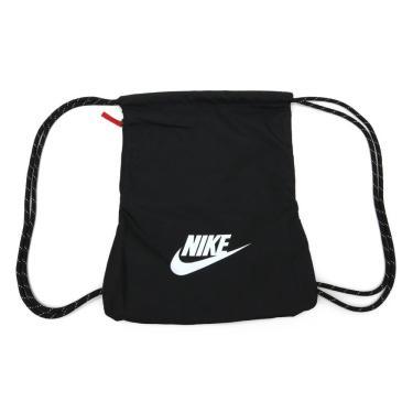 Sacola Nike Heritage 2.0 BA5901-010, Cor: Preto/Branco, Tamanho: ÚNICO