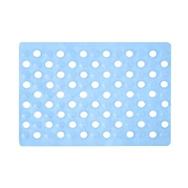 Imagem de Tapete Banheiro Basic Smart 0, 48 X 0, 32 Unico/azul Niazitex Basic Smart Azul 0, 48 X 0, 32