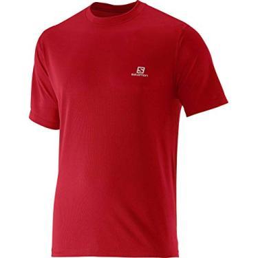 Imagem de Camiseta Masculina Comet S60109 Vermelho - Salomon - GG