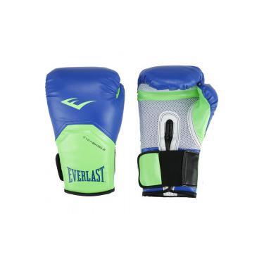 7cc5e9cb4 Pechinchas-50% Luvas de Boxe Everlast Pro Style Elite 14 OZ - AZUL/VERDE  CLA Everlast