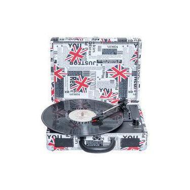 Toca-discos Vinil Retrô London 46.998 Classic