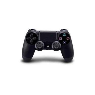 Controle Joystick Ps4 Sem Fio Dualshock 4 Jet Black Preto - Sony