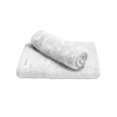 Jogo de toalhas Karsten Cotton Class 2 peças branca