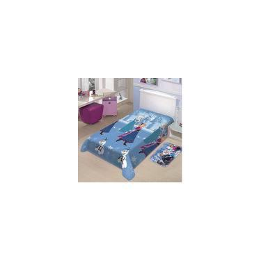 2d70e7e9ce Manta Infantil Frozen Neve Disney Soft Poliéster Microfibra Jolitex  1