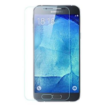 [2 unidades] Protetor de tela para Galaxy A8, protetor de tela de vidro temperado HD transparente para Samsung Galaxy A8 de 5,7 polegadas [não serve para Galaxy A8 de 5,1 polegadas (2016)]