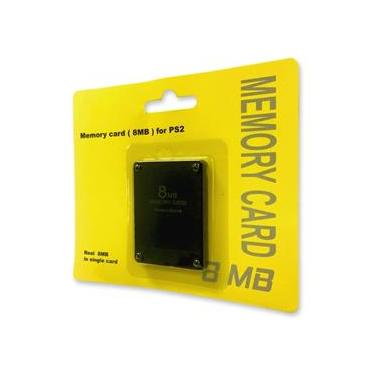 Memory card para PS2-8mb
