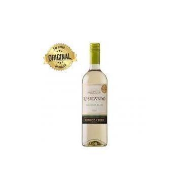 Vinho Chileno Branco Reservado Sauvignon Blanc Garrafa 750ml - Concha Y Toro -