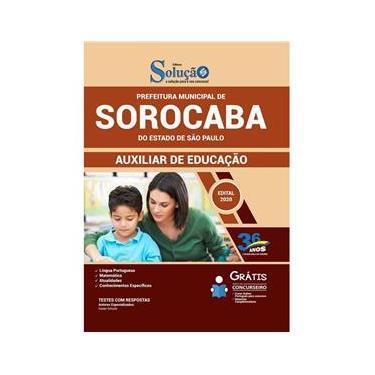 Imagem de Apostila Concurso Sorocaba Sp - Auxiliar De Educação