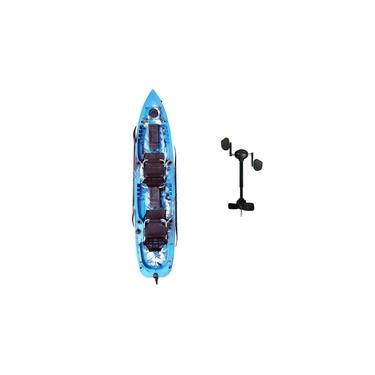 Caiaque Mero + 1 Pedal Caiaker Azul