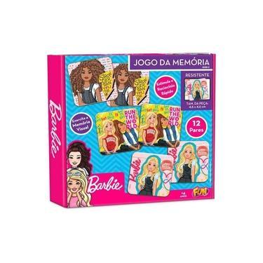 Imagem de Jogo da Memória 24 Peças Barbie - Fun F0047-9