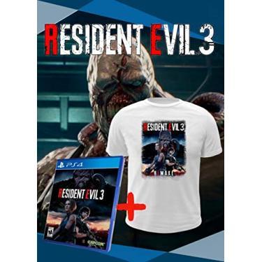 Jogo Resident Evil 3 Remake - PS4 Mídia Física