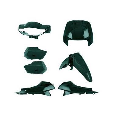 Kit Carenagem Pro Tork Biz 100 2001 Verde Marajó Metálico
