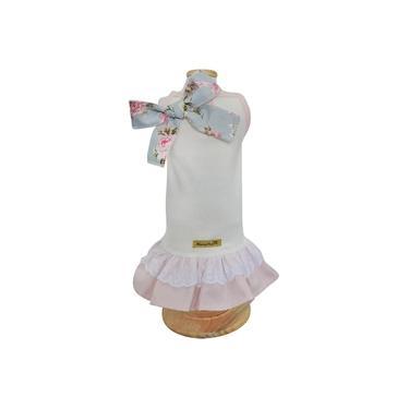 Vestido Mimy Encantê Coral - M
