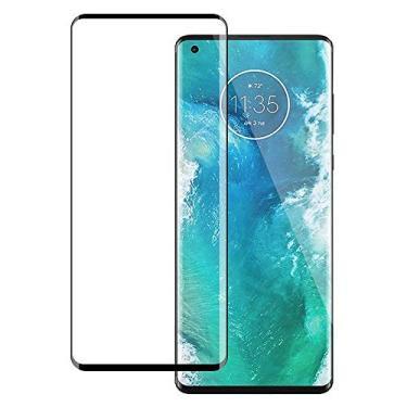 [2 unidades] Protetor de tela para Motorola Edge Plus, protetor de tela de cobertura total, vidro temperado HD transparente para Motorola Edge Plus