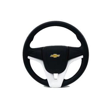 Imagem de Volante branco corsa classic wind celta buzina no volante