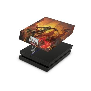 Capa Anti Poeira para PS4 Fat - Doom Eternal