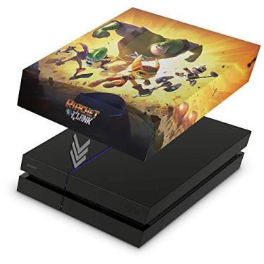 Capa Anti Poeira para PS4 Fat - Ratchet & Clank