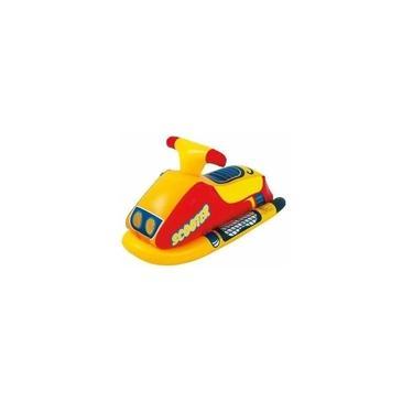 Boia Infantil Jet Ski Inflável Brinquedo Criança Piscina Lago - Amarela
