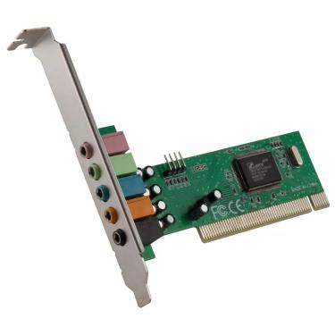 Placa De Som Pci 5.1 Com 6 Canais Dp-61 Dex