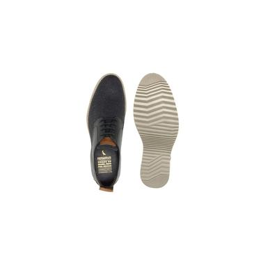 Sapato Masculino Reserva Modelo 40221 Recorte Dave Cinza