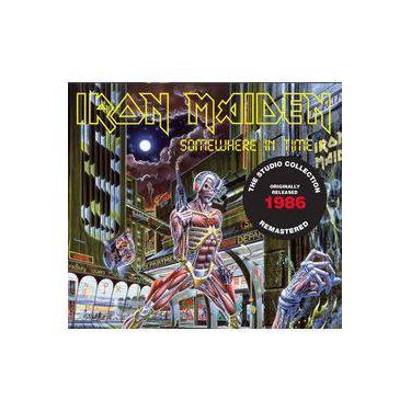 Cd Iron Maiden - Somewhere In Time (1986) - Remastered - Embalagem Em Digipack