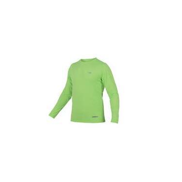 Camiseta Uv Body Fit Mormaii / Verde Fluor / Manga Longa / P