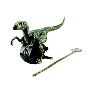 Boneco Jurassic World Mattel Perseguição Jurássica Velociraptor Blue