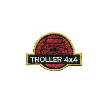 Patch Bordado Termocolante Troller 4x4
