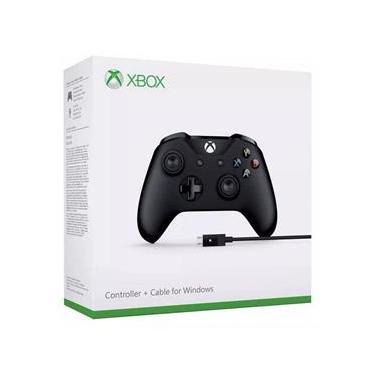 Controle Xbox One com Entrada P2 Para Fone + Cabo USB