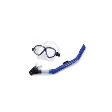 Kit Máscara e Snorkel Mormaii Ocean - Azul