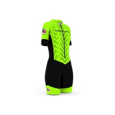 Macaquinho Ciclismo Forro Gel D80 F 38 Verde