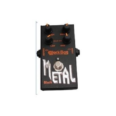 Pedal Black Metal Tbm Distorcion Heavy Metal Black Bug