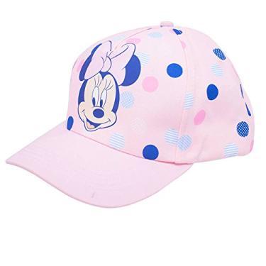 Boné Rosa Minnie Aba Curva - Disney 9e9465f0493