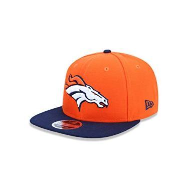Bone 950 Original Fit Denver Broncos Nfl Aba Reta Snapback Laranja New Era 565e1a319f3