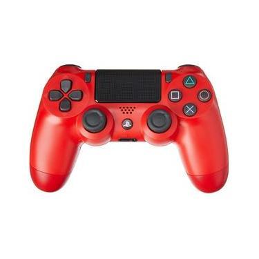 Controle Dualshock 4 Wireless Vermelho Magma Red - PS4