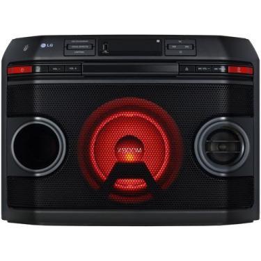 Mini System LG Bluetooth 220W CD Player Karaokê - AM/FM USB Torrre OL4