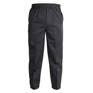 DYNWAVE Unissex Chiefs Master Calças Calças Uniforme para - Zebra M