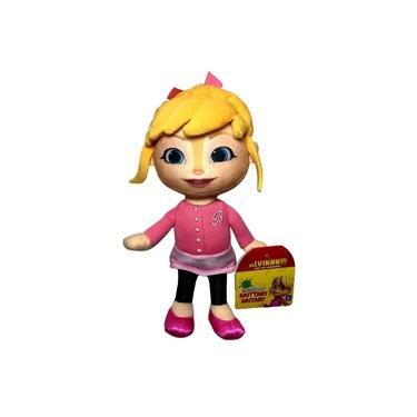 Imagem de Brinquedo Boneca De Pelúcia Pequena Esquilete Menina Brittany Rosa - Personagem Do Desenho Infantil Alvin E Os Esquilos - Fisher Price (FCR16)