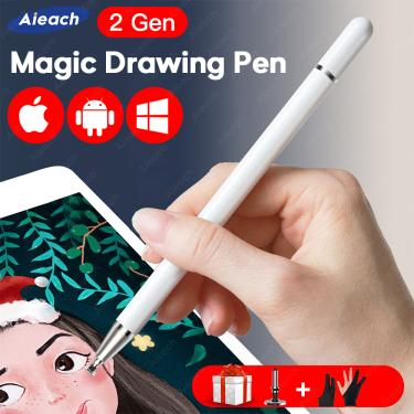 Imagem de Universal smartphone caneta para stylus android ios lenovo xiaomi samsung tablet caneta tela de