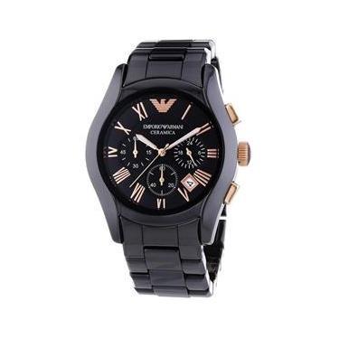 79fbb53f32e Relógio Emporio Armani masculino Ceramica AR1410