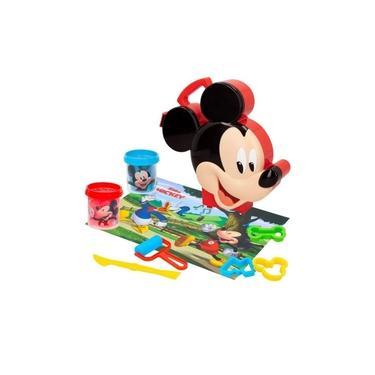 Imagem de Maleta Disney Mickey Mouse Massinha com Acessorios Multilaser