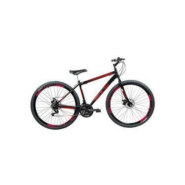 Bicicleta Sport Gold Aro 29 Mountain Bike Freio à Disco Quadro em Aço Carbono 21 Marchas KLS