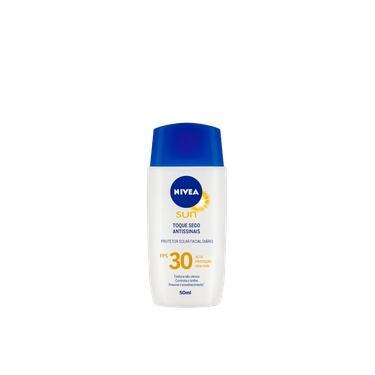 NIVEA SUN Toque Seco Antissinais FPS 30 - Protetor Solar Facial 50ml