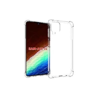 Capa Capinha Anti Impacto Transparente Para Smartphone Samsung Galaxy A12 6.5
