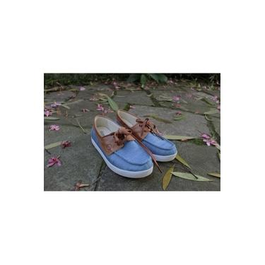 Mocassim Dockside Light Chambray Perky Shoes Confort
